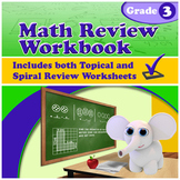 Math Review Workbook - Grade 3