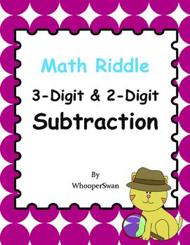 Math Riddle: 3-Digit & 2-Digit Subtraction