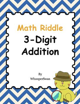 Math Riddle: 3-Digit Addition