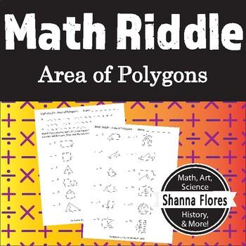 Math Riddle - Area of Polygons - Fun Math