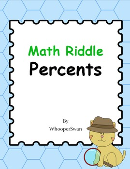 Math Riddle: Percents