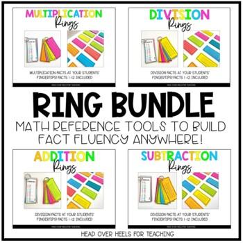 Math Ring Bundle {Addition, Subtraction, Multiplication, D