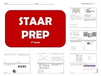 4th grade Math STAAR Prep (part 2)