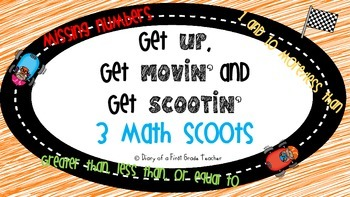 'Math Scoot' Get up, Get movin', and Get SCOOTIN with 3 Ma