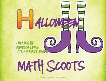Math Scoots- Halloween Theme