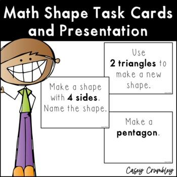 Math Shapes Task Cards