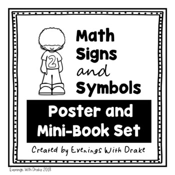 Math Signs and Symbols Posters