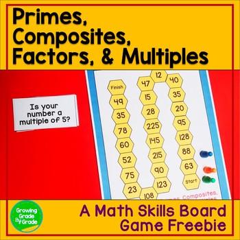 Math Game Skills Freebie
