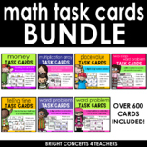 Math Skills Task Card BUNDLE *Over 400 Cards Included*