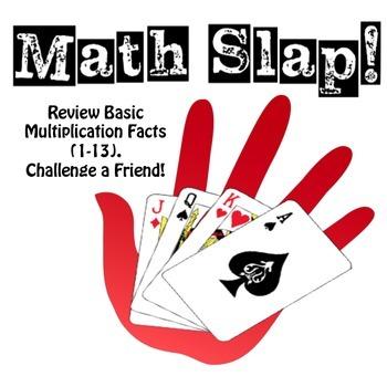 Math Slap: A Multiplication Fact Game