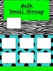 Math Small Group Posters