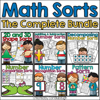 Math Sorts MEGA BUNDLE