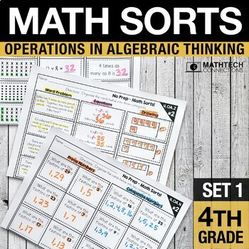Math Sorts - Multiplication, Division, & More!