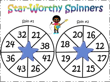 Math Spinners!!