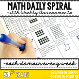 Math Moves: 3rd Grade Math Spiral Review
