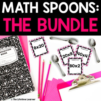 Math Spoons BUNDLE
