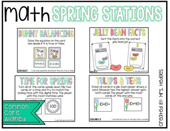 Math Spring Stations