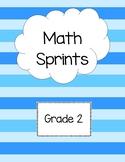 Math Sprints Grade 2