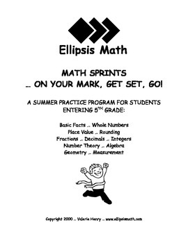 Math Sprints Summer Workbook