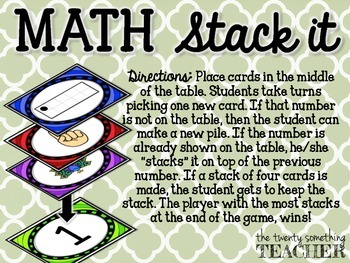 Math Stack It {Numbers}