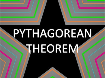 Math Star Review Game - Pythagorean Theorem & Distance Formula
