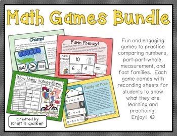 Math Games/Stations Bundle