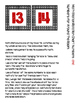Math Station Rotation Chart Freebie- red