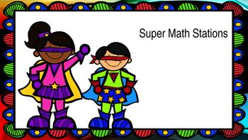 Math Station Rotation PowerPoint