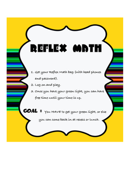 Math Station instructions
