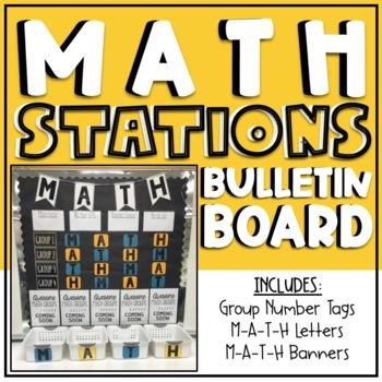 Math Stations Board