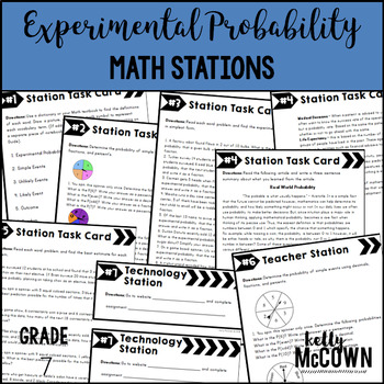 Math Stations: Experimental Probability