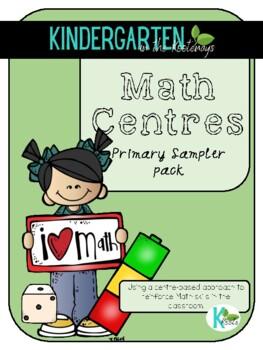 Math Stations Freebie