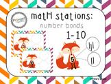 Math Stations: Number Bonds - Fox