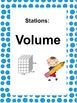 Math Stations: Perimeter, Area & Volume (task cards)