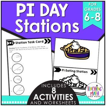 Math Stations: Pi Day