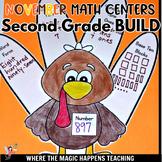 BUILD Math Centers for Second Grade NOVEMBER Common Core