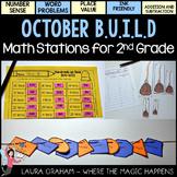 BUILD October Math Centers for Second Grade OCTOBER Common Core
