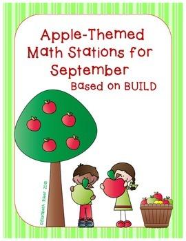 September Math Centers - BUILD