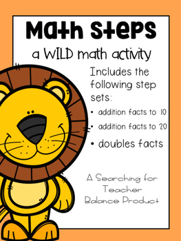 Math Steps - Facts to 10, 20 and Doubles Edition