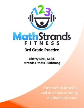Math Strands Fitness (PDF) 3rd Grade Practice