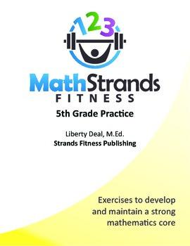 Math Strands Fitness (PDF) 5th Grade Practice