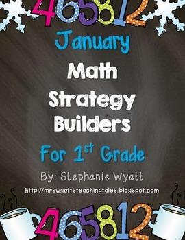 Math Strategy Mini Journals January