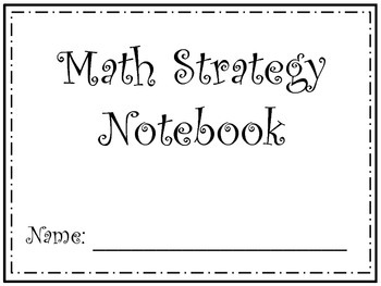 Math Strategy Notebook - Common Core Aligned