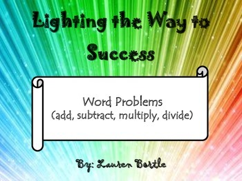 Math Strategy Notebook - Word Problems