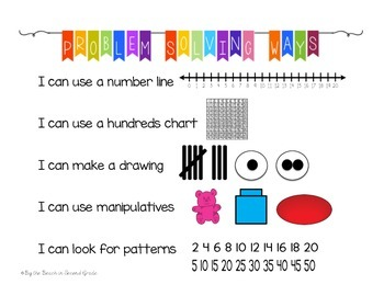 Math Strategy Posters that Build Independent Learners