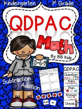 Math Strategy QDPAC (Question, Data, Plan, Answer, Check)