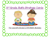 EngageNY Module, Grade 3 - Math Reference Cards