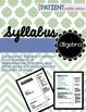 Math Syllabus Pack : 6th, 7th & 8th grade, Algebra, & Geometry