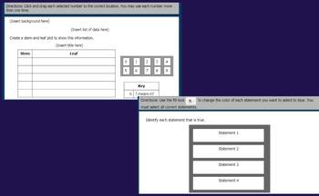 Math TEI Editable Google Slides Templates VA SOL 5th grade