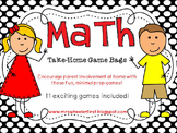 First Grade Math: Take-Home Games